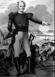 Scott portrait at time of the Mexican War