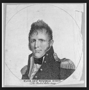 Major General Winfield Scott - after the War of 1812 victories