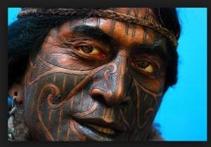 New Zealand Aboriginal Facial Tattoo  Source:pearlsofprofundity.files.wordpress.com