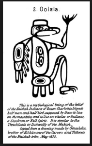 Haida Oola half man half bird     Source:Tattoosymbol.com