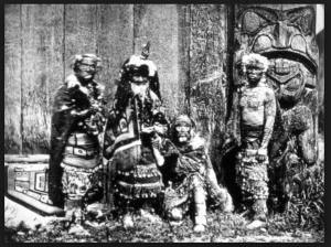 Haida & Tlingit Crest Tattoos (late 19th Century)              Source:larskrutak.com