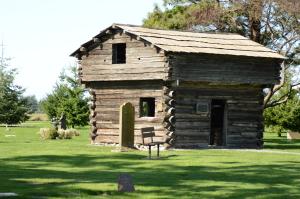 Block House built on Ebey's Landing after the massacre
