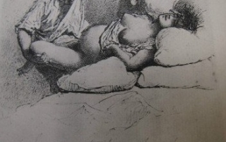 French-Victorian-Childbirth-etching