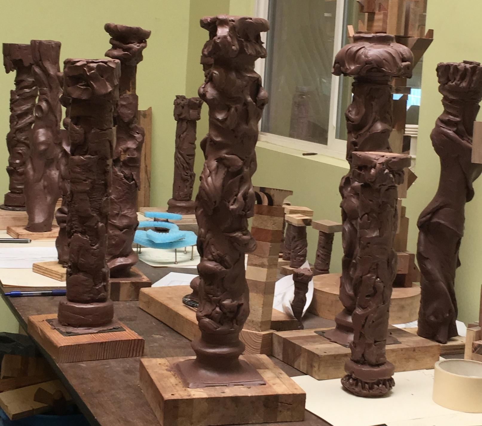more clay maquettes by grigoyr